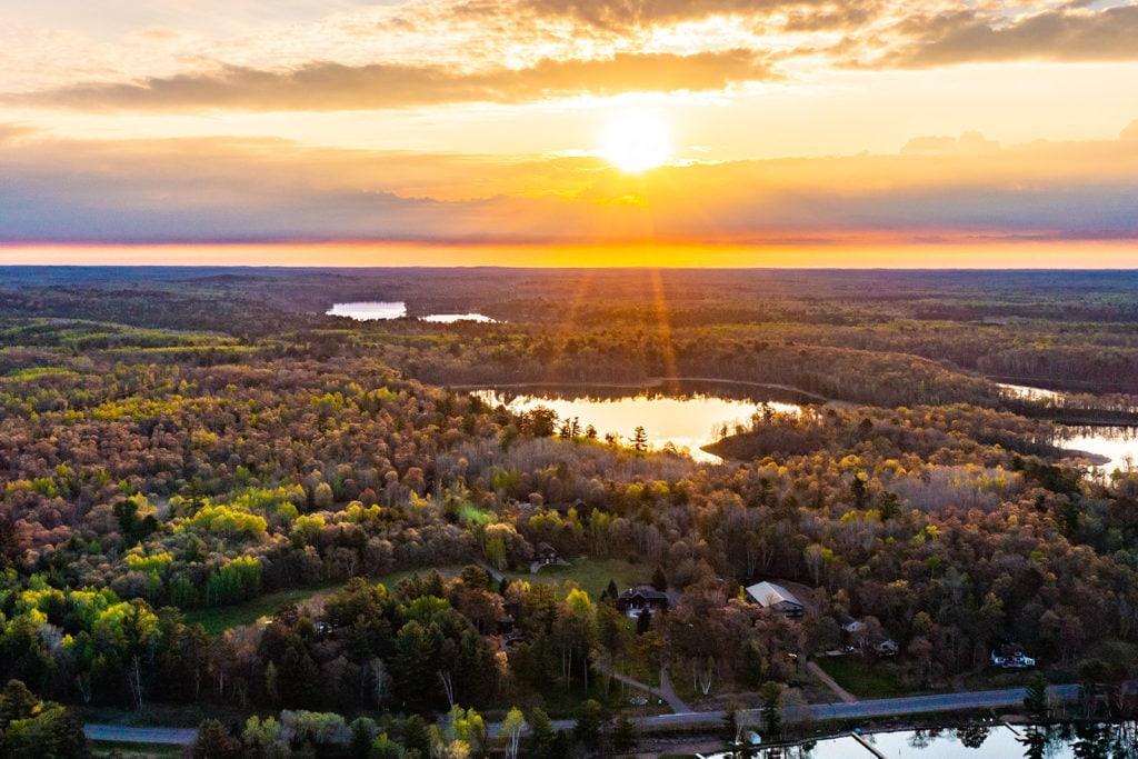 lakes landscape