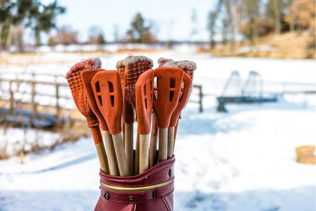 sports winter equipment
