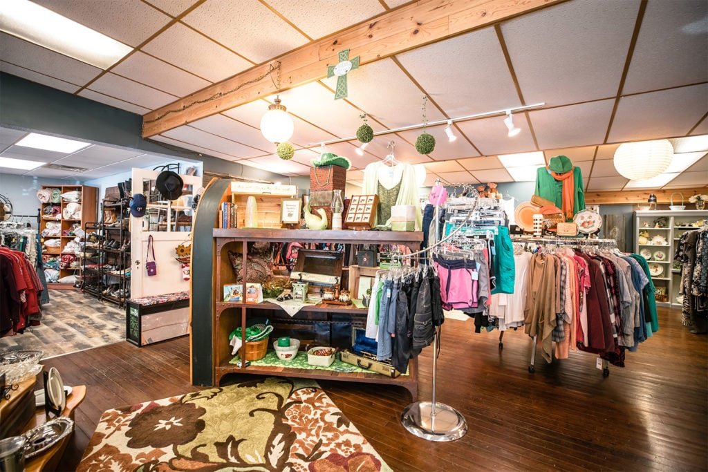 Clothing store in the Whitefish Chain