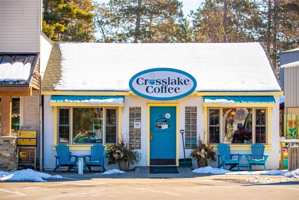Exterior view of Crosslake Coffee